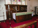 Chancel area